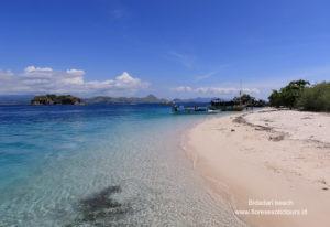 Bidadari beach island