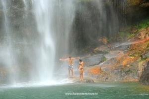 Cunca Rami waterfall