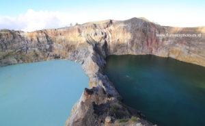 Kelimutu crater lakes