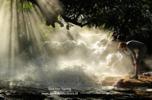 Soa hot spring