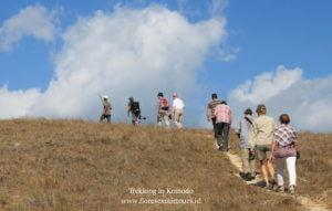 komodo trekking