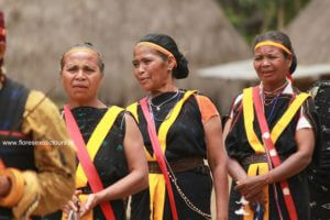 Ngada tribe, Flores history, ethnic