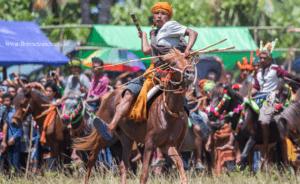 Pasola war festival,Sumba island