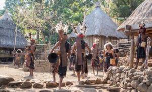 Takpala village, Alor island