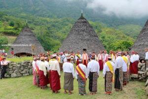 Waerebo village, Manggarai tribe