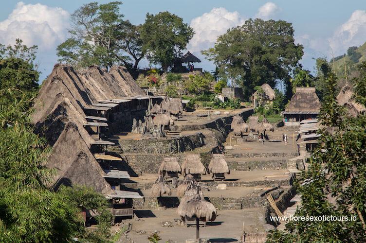 Bena Village Ngada Flores Indonesia