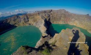 Kelimutu colored lakes, Explore East Indonesia