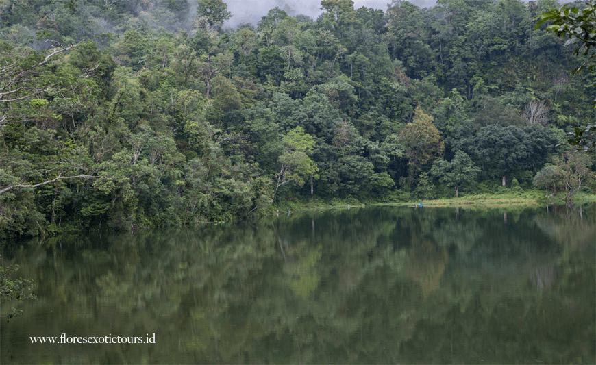 Ranamese Lake, East Manggarai regency,Flores island