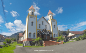 Ruteng, Cathedral, Flores island