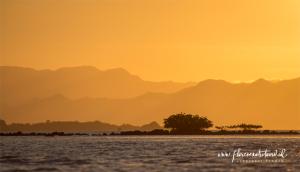 Sunset in Komodo
